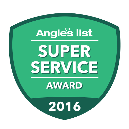 Angie's List Super Service Award 2016 Carpet, Rug, Upholstery, Tile Cleaning