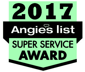 2017 Angies List Super Service Award for Best Top Carpet Upholstery cleaners