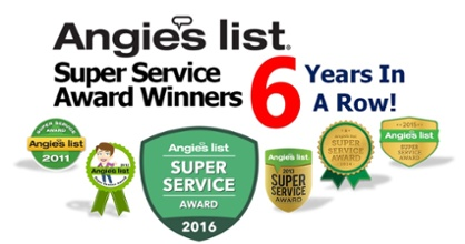 Angie's List Super Service Award 6 Years in a Row Carpet Upholstery Rug Mattress